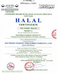 Chung nhan Halal-1