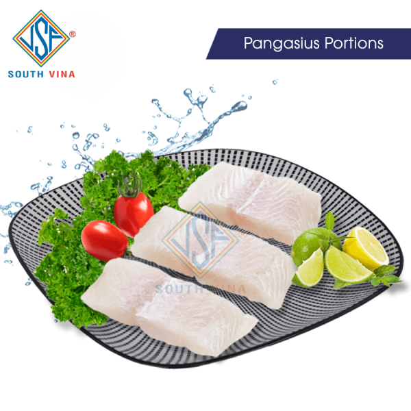 Pangasius portions